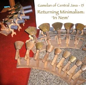 15 Returning Minimalism: InNem